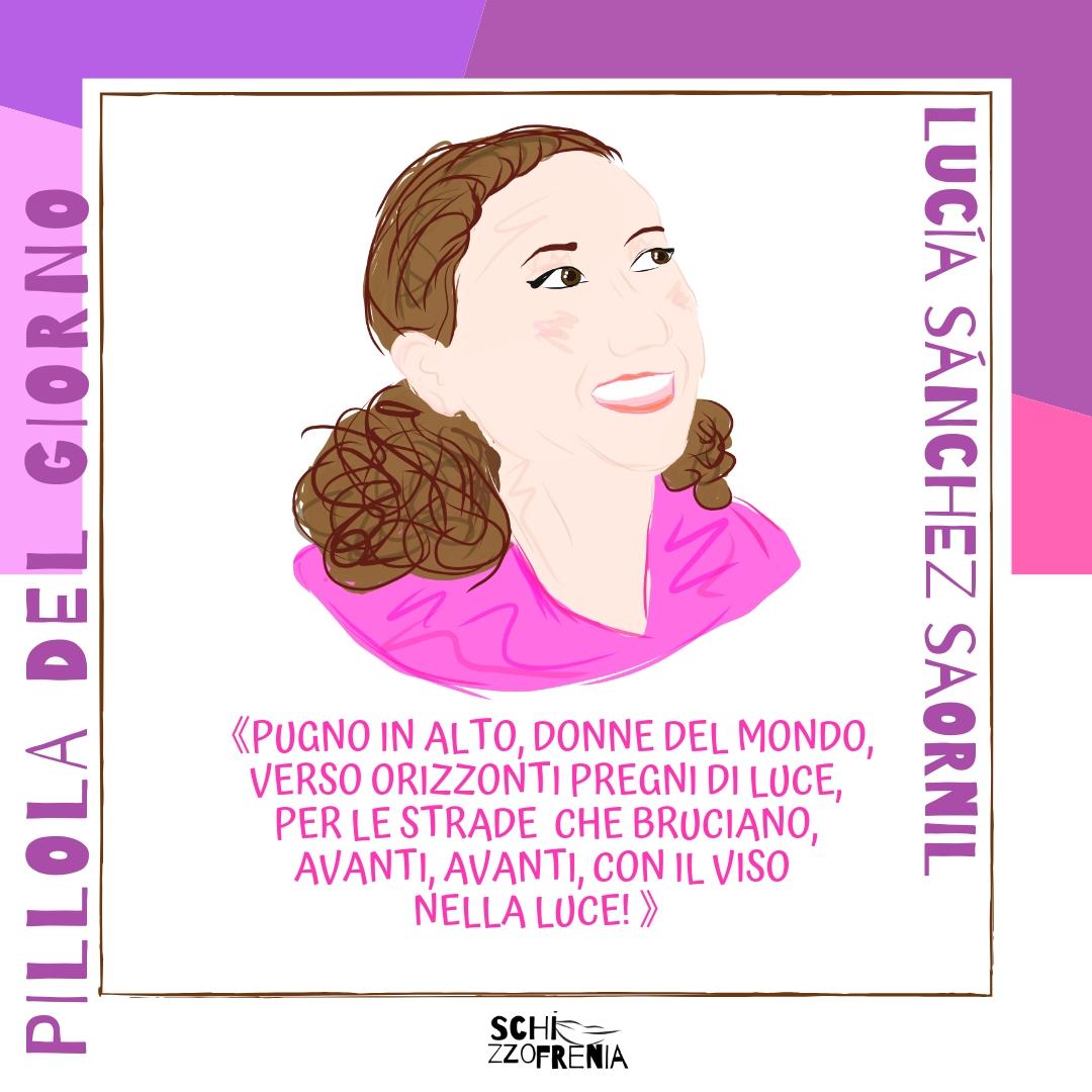 Lucía Sánchez Saornil 8 marzo